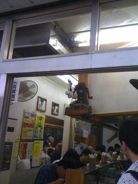 ラーメン二郎 横浜関内店 - 関内店の守護神さま