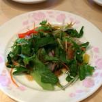 煌蘭 - セットのサラダ