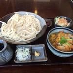 40978677 - カツカレー丼うどんセット