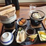 民宿 岸壁荘 - 料理写真:磯牡蠣コース