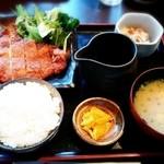 黒木屋宮崎 西都 - ★地頭鶏のチキンカツ定食(日替わり)