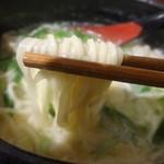 白寿 - 麺はこんな感じ