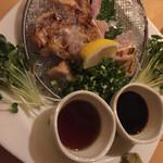 ちんぷんかんぷん - 地鶏のタタキ