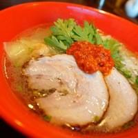 塩らー麺 本丸亭 - 赤丸塩ら~麺