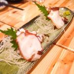 Ginzajanome - タコの刺身