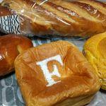 40989385 - 今回購入のパン達