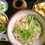 三品 - ごぼう天(冷)小天丼