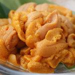 おたる政寿司 - 5月下旬より解禁、小樽産の新鮮な海水ばふんうに【8月まで】