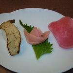 釜山道川 - 野菜のにぎり