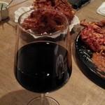 グリル ベリーズ - 赤ワイン呑みます