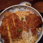 ときわ - カツ丼1000円 美味しかった