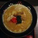 Shodaimemmatsu - ベジポタ豚骨醤油らーめん(713円)