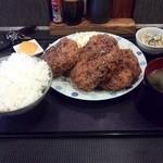 40992615 - メンチカツ(辛口)定食