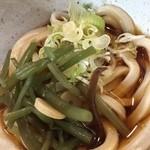 さぬき・むさし野うどん水織 - ミニ山菜うどん(セット)