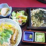 四ッ六庵 - カツ丼と蕎麦