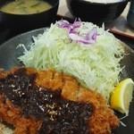 松乃家 長良町店 - 味噌カツ定食