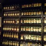 BAR 響香 - キープボトルの棚
