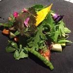 カセント - 温野菜のサラダ!
