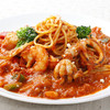 海鮮トマトスパゲティ