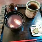 カフェギャラリー柚 - 田舎しるこ ¥580