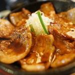 とんすけ - 豚丼バラ(ニクメシ大盛り