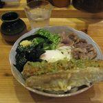 41001610 - 男の肉ぶっかけ(冷、中盛)(2015.08)