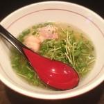 麺屋じぇにー - 鶏魚塩ラーメン