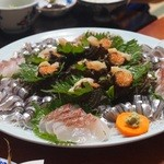 民宿 五島 - 料理写真:指し盛り4人前