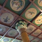日光金谷ホテル - 食堂の天井