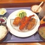 東海 - ミックスフライ定食