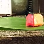 41004621 - カウンターで握り寿司