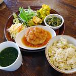 カッフェ トムテ - 日替わりtomteランチ