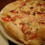 Nishioka - スモークチキンとトマトのピザ(ランチA)