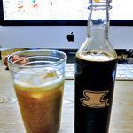 41005015 - 「ツバメコーヒー カフェオレベース」を牛乳と混ぜて(2015年8月)