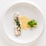 アルテリーベ - 太刀魚の網代仕立て、ヴェルヴェーヌの香るブールブラン
