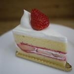 クレール ドゥ リュンヌ - 季節のショートケーキ