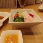 神戸串あげ SAKU - ペアディナーコース・季節のサラダ