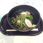 41011391 - 山菜そば。
