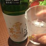 41013343 - 秋田のお酒「雪の茅舎」持ち込みです