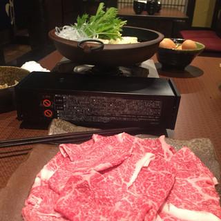 燈弥 - 前沢牛のすき焼き