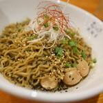 米風亭 - 黒ごま辛口麺大盛り