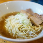 自家製麺 伊藤 - 料理写真:比内鶏肉そば