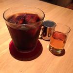 カフェ・ラシュール - アイスコーヒー420円税込