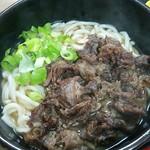 ふるいち - 料理写真:肉うどん[\350]