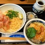 福乃屋 - ぶっかけとミニ天丼のセット