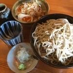 KATSURA - ランチセット❤ 味たまミニ丼 と✨ もり蕎麦特盛り300g