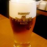 赤坂 よ志多 - 生ビール