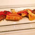 41020498 - 夏野菜のカポナータと烏賊のマリネ