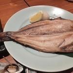 魚錠 - 特大ほっけ開き880円