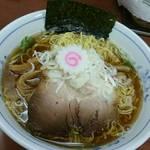 ついてる中山 - 煮干しそば(細麺オーダー)